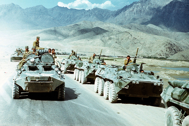 The Soviets Leave Afghanistan