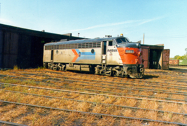 The National Railroad Passenger Corporation (Amtrak) was created