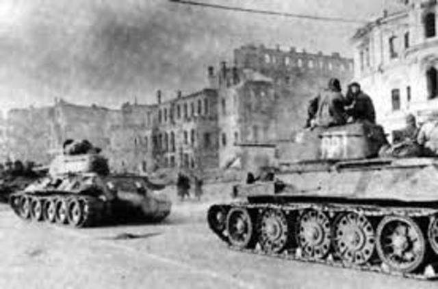Last Soviet Troops retreat Afghanistan