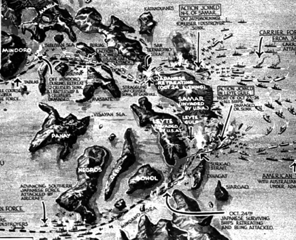 The Battle of Leyte Gulf and Kamikazes