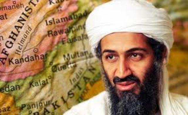 Bin Laden arrives to Afghanistan