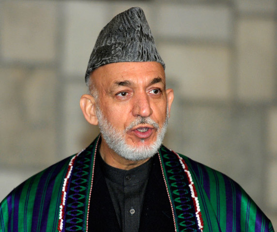 Hamid Karzai is made leader of Afghanistan