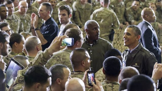 Obama Prolongs Troops Return Date