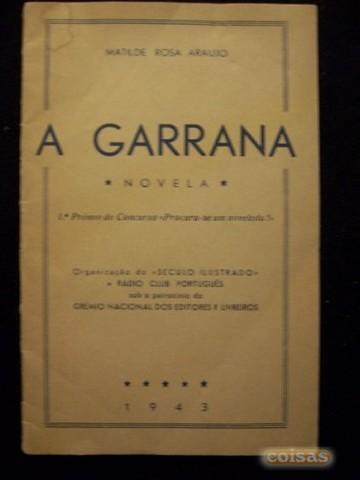 Livro de ficção «A Garrana»