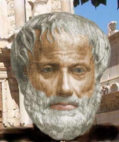 Aristoteles (84 y 322 a. C,)