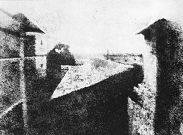 primera fotografía permanente de la Historia