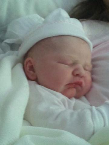 Nacimiento de su primera nieta