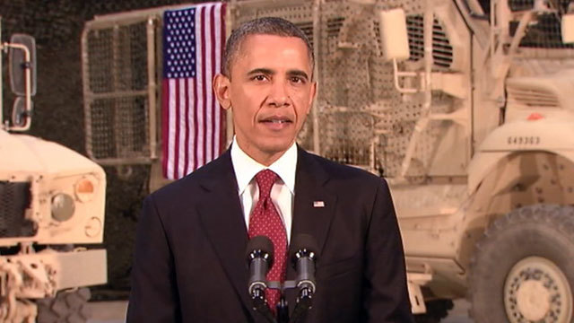 Obama's Speech to deploy more troops to Afghanistan