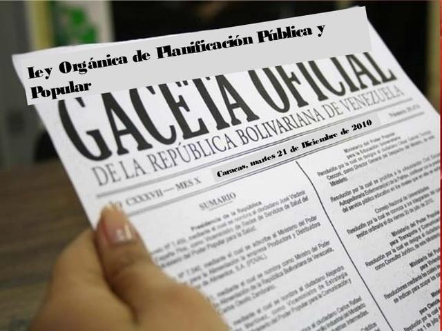 Consejo Estadal de Planificación y Coordinación de Políticas Públicas