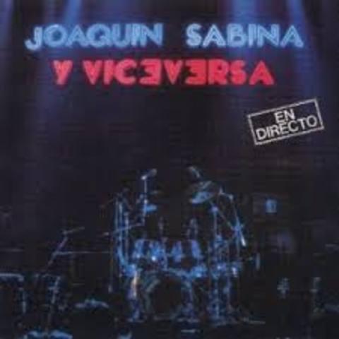 Joaquin Sabina y viceversa