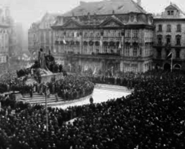 Kup i Tjekkoslovakiet