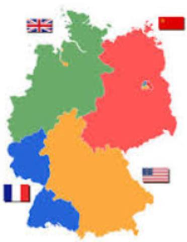 Tyskland deles