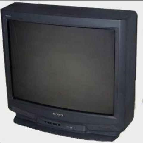 El primer televisor de casa
