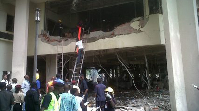 UN building in Abuja attacked by suicide bomber