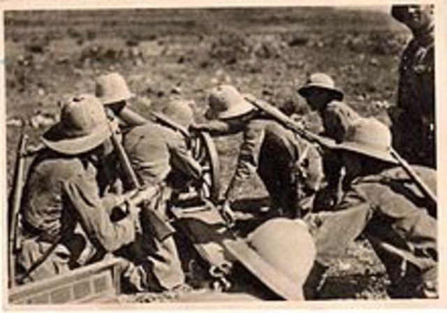 Invasión italiana a Etiopía