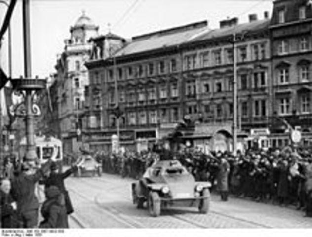 Alemania anexiona Austria