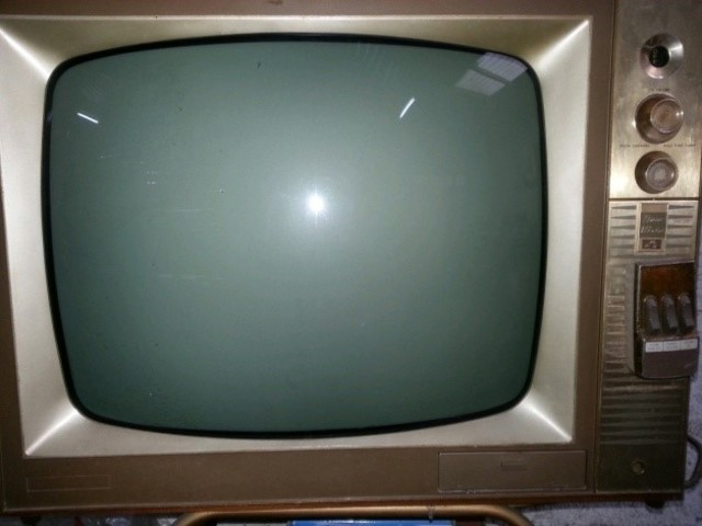 Televisión en blanco y negro