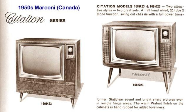 TV Marconi ByN. La primera.