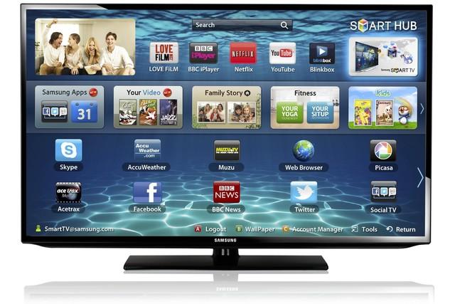 Samsung Smart TV. Cambio radical.