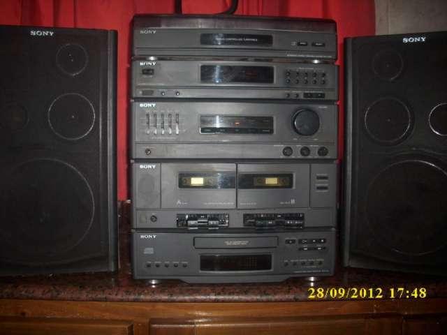 Equipo de música Hi-Fi.