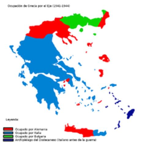 Invasión italiana a Grecia