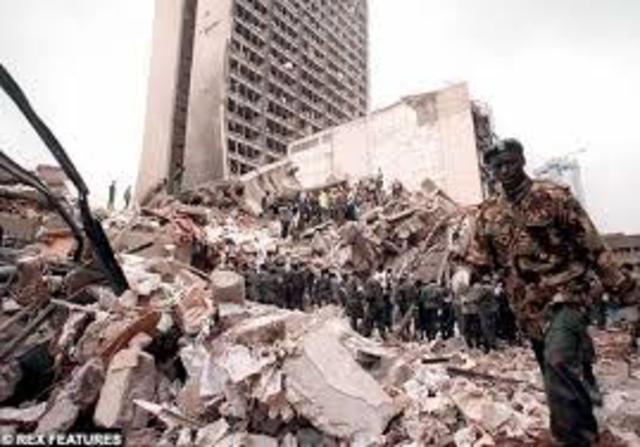 Embassy bombing in Kenya