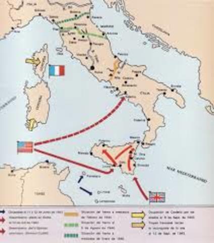 Italia firma el armisticio