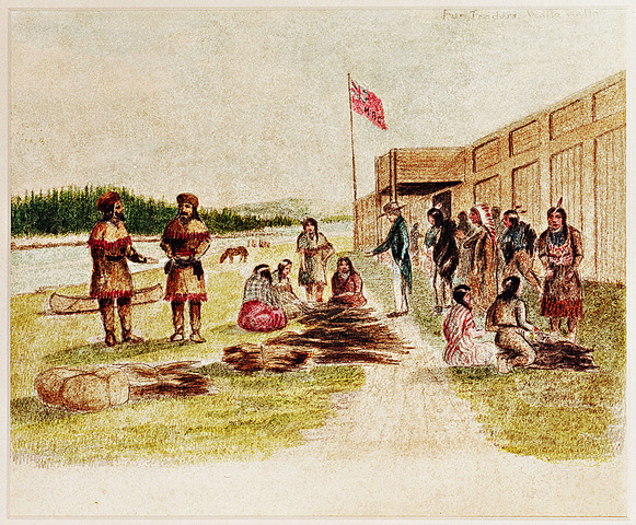 Power relations between Amerindians and the colonial administrators