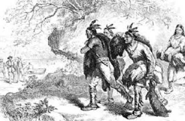 Relations Between Ameriandien and colonial administration