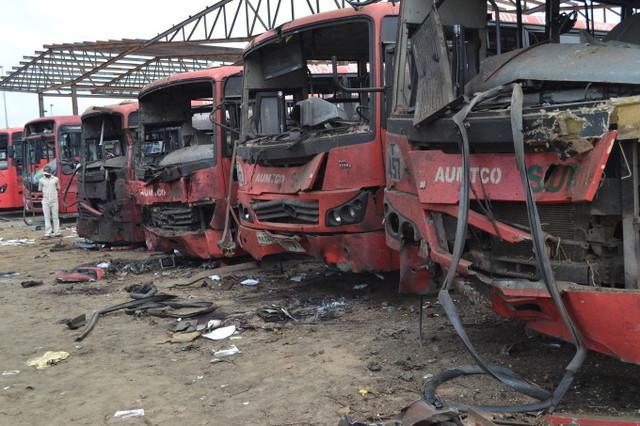 Suicide bomber attacks Nyanya bus station Abuja