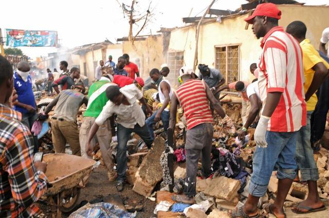 Twin bomb blasts in Jos, 118 confirmed killed