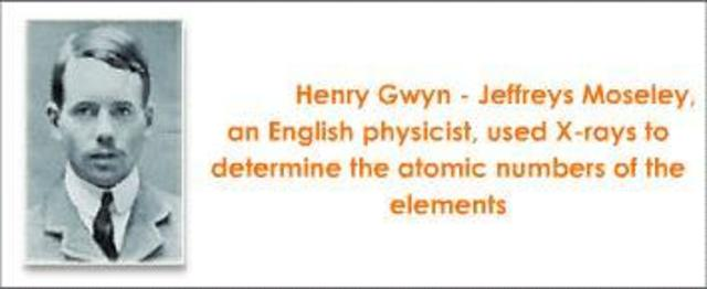 Henry Moseley's contribution
