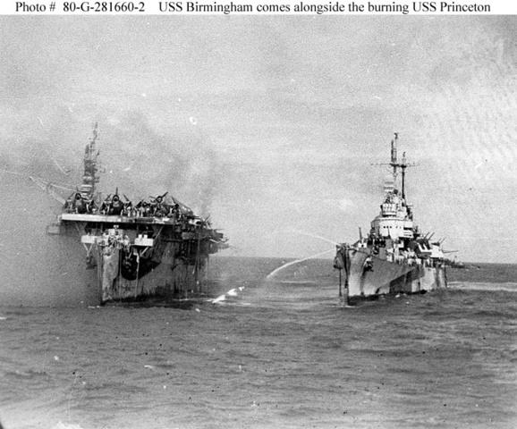 The Battle of Leyte Gulf & kamikazes