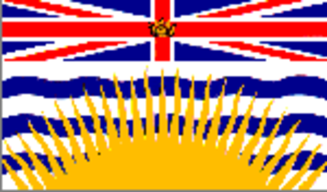 British Columbia became a province
