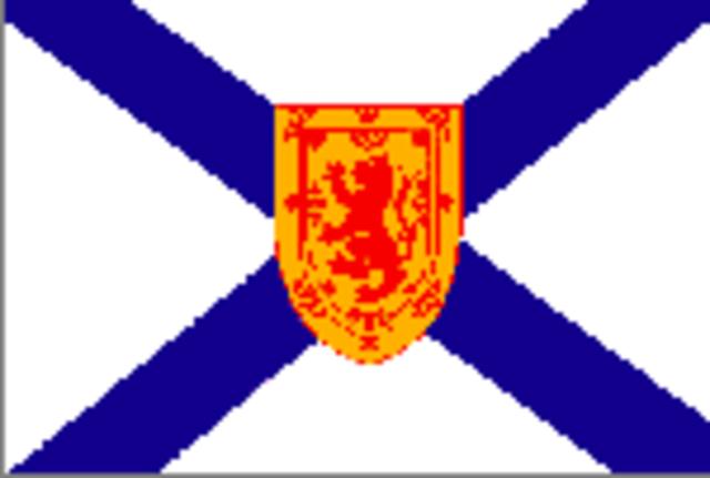 Nova Scotia became a province