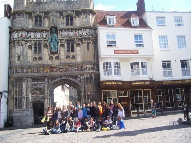 An amazing adventure in Canterbury (England)
