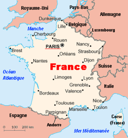 Germany and Italy invade France