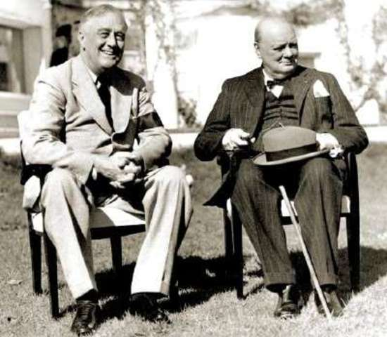 War Plans with Winston Churchill and FDR
