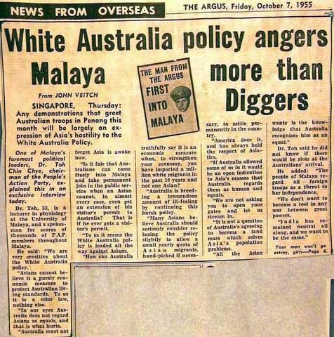 White Australian Policy