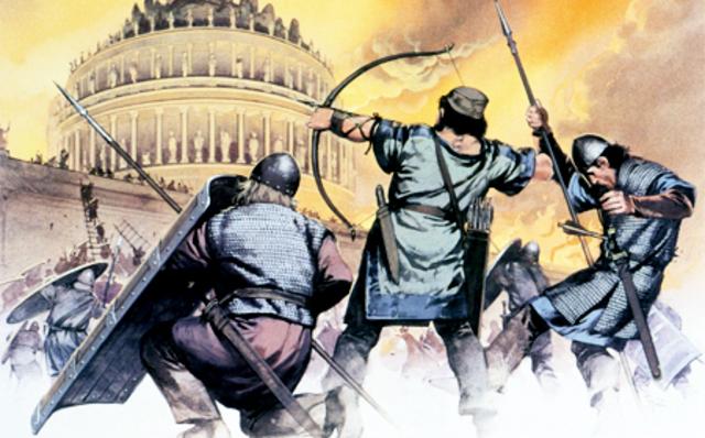 Свержение последнего римского императора Ромула Августула, распад Западной Римской империи