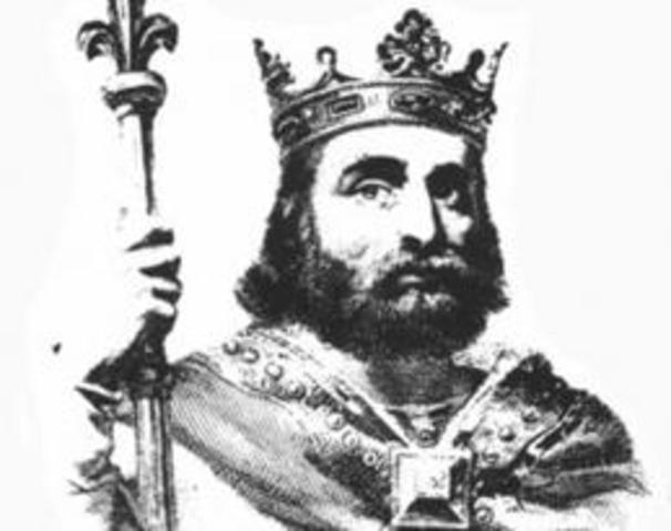 Вождь франков Хлодвиг I положил начало Франкской монархии