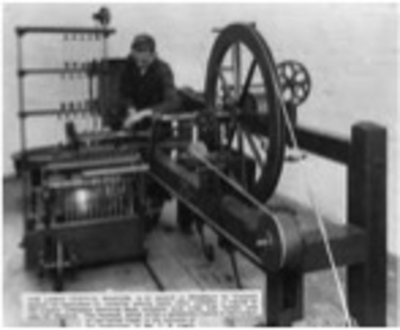 El telar Hidraulico