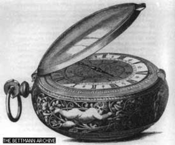 Invension del Reloj de bolsillo