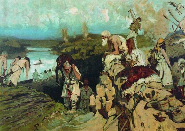 Передвижения славян в связи с распадом гос-ва гуннов.