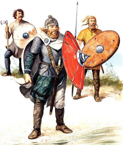 «Люди с длинными ножами» - саксонцы.