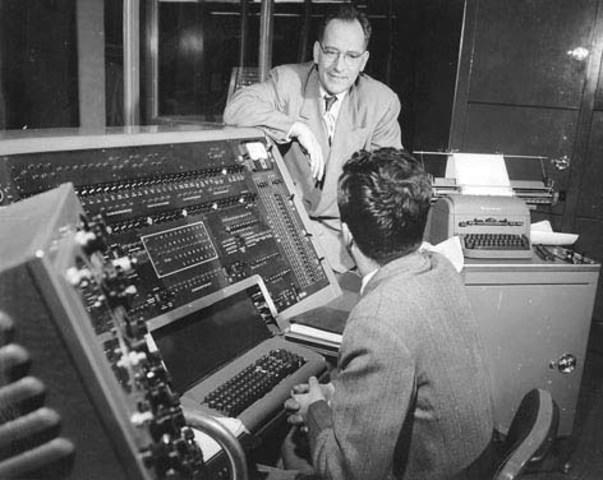 John W. Mauchly y John Eckert.
