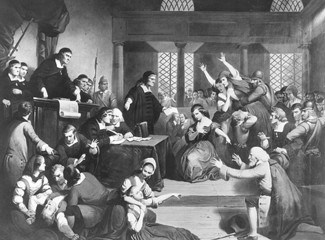 Sixth Event; Several people accused of witchcraft.