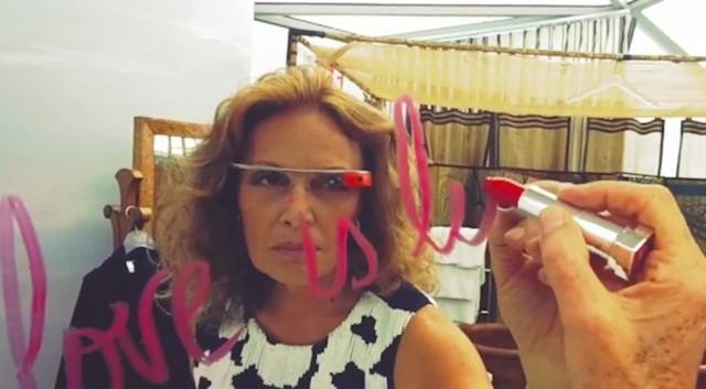 Les Google Glass à la Fashion Week