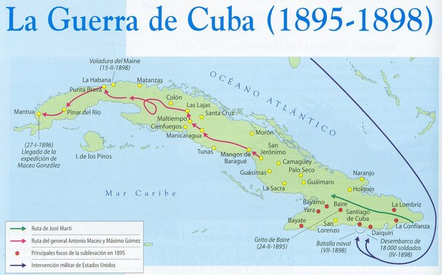Derrota Espanyola a Cuba ( Crsitina Mendoza)
