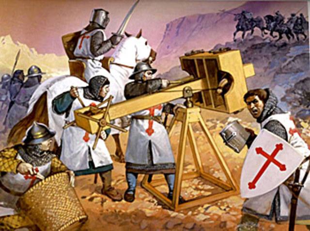 ¿Que hicieron los Cruzados en la Tierra Santa?.